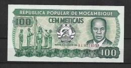 Mozambique: 100 Méticais (neuf Jamais Circulé) - Mozambique