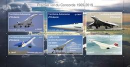 50 Ans Du Premier Vol Du Concorde - 1969-2019 - Feuillet Neuf ** - TAO - A La Faciale ! - Concorde