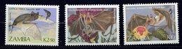 Zambie ** N° 462 à 464 - Chauves-souris - Zambia (1965-...)