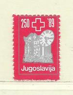 YOUGOSLAVIE  ( EU - 750 )   1989   N° YVERT ET TELLIER  N° 2223D    N** - 1945-1992 Socialist Federal Republic Of Yugoslavia