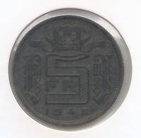 LEOPOLD III * 5 Frank 1945 Frans * Prachtig  * Nr 9803 - 1934-1945: Leopold III