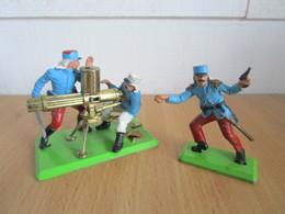 Britains Deetail Soldats Légionnaire Avec Mitrailleuse Gatling - Army