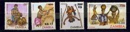 Zambie ** N° 494 à 497 -  Divers - Zambia (1965-...)