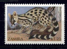 Zambie ** N° 522 - Genette - Zambia (1965-...)