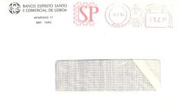 Franquia Mecânica Faro Algarve Portugal  Ema, Mechanical Franchise Economia économie Banco Espirito Santo Lisboa - Poststempel (Marcophilie)