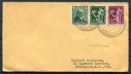 1936 DR Deutsche Seepost Hamburg Sudamerika CAP ANCONA Ship Schiffspost Cover. - Briefe U. Dokumente