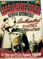 Lessiveuse Soleil Rotative Automatique Leon Menetrel RV Edit F Nuheron RV - Publicité
