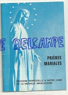 Prières Mariales. Neuvaine Perpétuelle à Notre Dame De La Médaille Miraculeuse. 1978. Livret De 28 Pages - Livres, BD, Revues