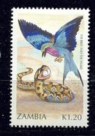 Zambie ** N° 526 - L' Oiseau Et Le Serpent - Zambia (1965-...)