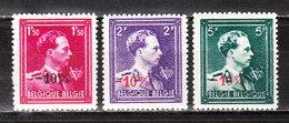 724R/T**  Leopold III  Col Ouvert - Série Complète - MNH** - COB 5 - Vendu à 12.50% Du COB!!!! - 1946 -10%