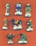 Serie Incomplète De 8/12 Feves Mulan - Disney