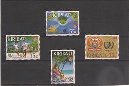 KIRIBATI Année Internationale De L'enfant Année 1985 N° Y/T : 138/142** - Kiribati (1979-...)