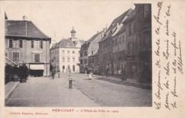 70 - HERICOURT - L'Hôtel De Ville En 1909. - Francia