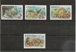 KIRIBATI Poissons Année 1985 N° Y/T : 130/133** - Kiribati (1979-...)