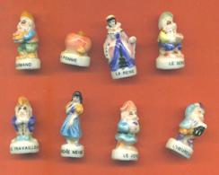 Serie Incomplète De 8/12 Blanche Neige Et Les 7 Nains - Disney