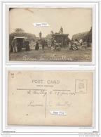 3620 AK/PC/CARTE PHOTO/N°327/91/ESSONNE FERME DU BOULLAY SCENES DE BATTAGE 1916 - Frankreich