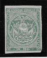 Equateur N°2 - Neuf Sans Gomme - Infime Pelurage Sinon TB - Equateur
