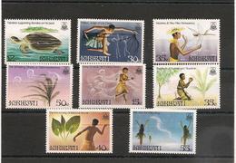 KIRIBATI Légendes Locales Années 1984/85 N° Y/T : 126/129**-142/145** - Kiribati (1979-...)