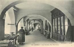 CPA 74 Haute Savoie Annecy Les Arcades Rue Ste Claire - 158 A.Gardet - Neuve - Annecy
