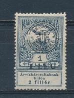 Transsylvanië/Transylvania/Transylvanie/Siebenbürgen 1919 Mi:  1 I Yt: 1 (Ongebr/MH/Neuf Avec Ch/Ungebr/*)(3880) - Transilvania