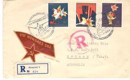 9829 - VIII KONGRES SKJ - 1945-1992 République Fédérative Populaire De Yougoslavie
