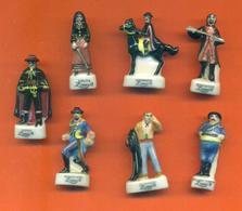 Serie Incomplète De 7/12 Feves Zorro 2 1999 - Disney
