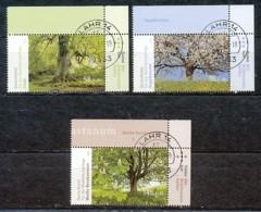 GERMANY Mi.Nr. 2980-29 Wohlfahrt: Blühende Bäume - Eckrand Oben Rechts - Used - BRD