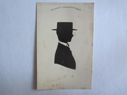 Silhouettes Silhouette Souvenir Scheveningen Otto Rafael Wilhelmina Hollande - Silhouettes
