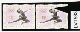 LVT583 ÖSTERREICH 1963 Michl 1139 PLATTENFEHLER HAND über MARKENBILD ** Postfrisch - Abarten & Kuriositäten