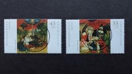 BRD Mi-Nr.2569/70 Ersttagsvollstempel DREIEICH - Oblitérés