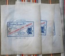 55 VARENNES EN ARGONNE Le Pre L Orfevre CHEPPY Papier A Beurre - Fromage