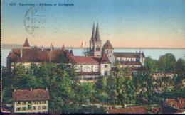 SUISSE – NEUCHÂTEL « Château Et Collégiale » - Ed. Société Graphique, Neuchâtel (1920) - NE Neuchâtel