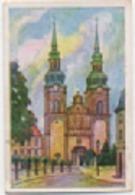 Zigarettenfabrik W. Lande Dresden: Deutschtum Im Ausland, Bild 136: Eupen, Nikolauskirche - Cigarette Cards