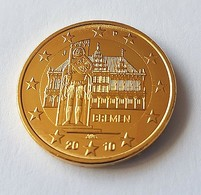 "ALLEMAGNE 2010 - 2 EUROS COMMEMORATIVE - BREMEN - ATELIER "" G "" - PLAQUE OR - Allemagne"