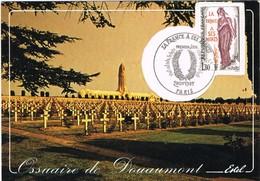 30500. Tarjeta Maxima PARIS (Francia) 1985. Ossuaire De DOUAUMONT. Verdun - Cartas Máxima