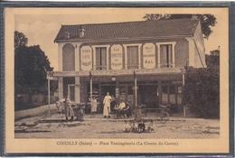 Carte Postale 94. Coeuilly La Civette Du Centre  Place Vercingétorix  Très Beau Plan - France