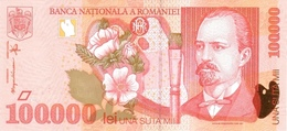 Romania P.110  100000 Lei  1998 Unc - Romania