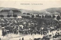 CPA 25 Doubs Pontarlier Le Champ De Foire - F. Borel Phot.Edit. - Neuve - Pontarlier