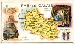 CHROMO HUILE SALVER DEPARTEMENT PAS DE CALAIS - Autres