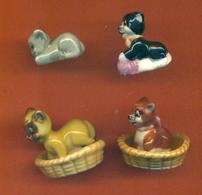 Serie Incomplète De 6/12 Feves Les Chaminous Dodo - Animals