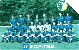 *ITALIA - SIP: ITALIA '90 - IP CON L'ITALIA* - Scheda Usata (variante 64a) - Fouten & Varianten