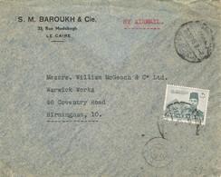 30505. Carta Aerea CAIRO (Egypt) 1945. To England - Egipto