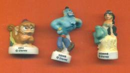 Serie Incomplète De 3/10 Feves Mat Aladin - Disney