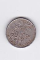 50 CENTIMES - 1929 - Pièce Interessante - Congo (Belgian) & Ruanda-Urundi