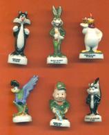 Serie Incomplète De 6/12 Feves Bunny Et Ses Amis 1995 - Cartoons
