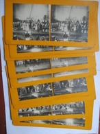 Lot  9 Photographies Stéréoscopiques Fantaisies - Théâtre Du Chatellet - LE VOYAGE DE SUZETTE - TBE - Fotos Estereoscópicas