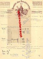 77- VILLIERS SUR MORIN- 13-MARSEILLE-RARE LETTRE SOCIETE BOUTONNIERES DU MOULIN-ETS. TRIVIER-MODE GALLIA-1958 - Textile & Vestimentaire