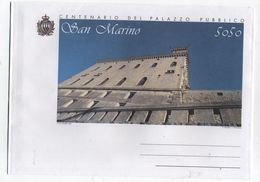 Sam Marino CENTENARY PUBLIC PALACE ILLUSTRATED COVER - Architecture