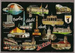 BRD - AK :  Berlin Bleibt Doch Berlin (1969) - Deutschland