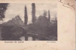 Souvenir De Lierre Les Casernes Nels Série 23 N° 8 Circulée En 1901 - Lier
